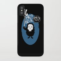 pixies iPhone & iPod Cases featuring Hey! by Ryan W. Bradley