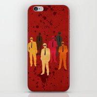 Six Angry Dogs iPhone & iPod Skin