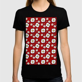 eggs red T-shirt