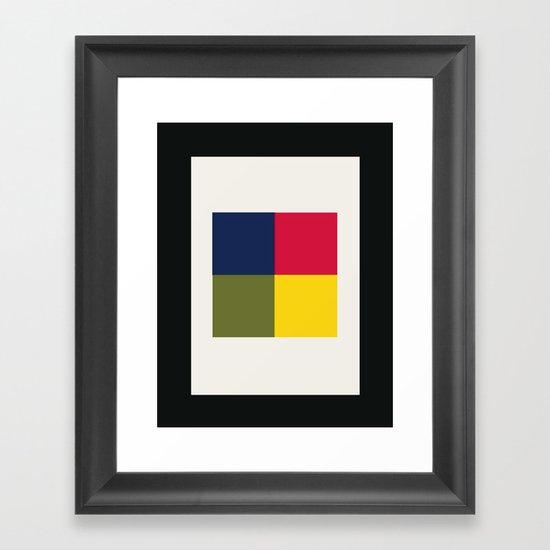 SKIP STONE Framed Art Print
