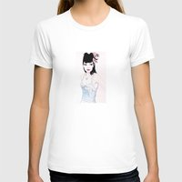 mac T-shirts featuring ABBIE MAC by michael newton