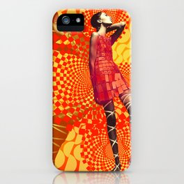 Supermodel Donyale 1 - Supermodels of the Sixties Series iPhone Case