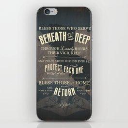 Submariner's Hymn (submarine version) iPhone Skin