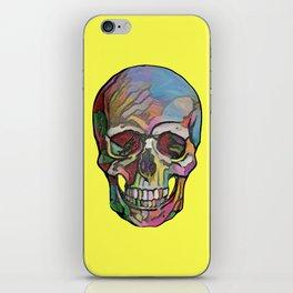 The Happy Skull (Yelow) iPhone Skin