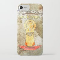 tool iPhone & iPod Cases featuring Omni Tool by AngoldArts
