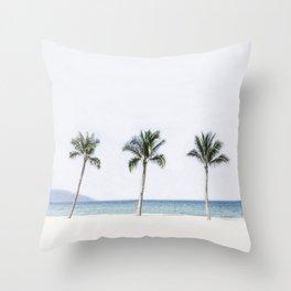 Palm trees 6 Throw Pillow