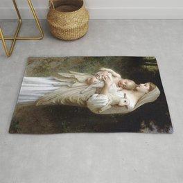 "William-Adolphe Bouguereau ""L'Innocence (Innocence)""(1893) Rug"