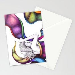 #19 – pensieri vorticosi Stationery Cards