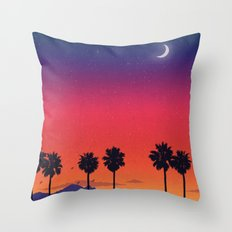Once Golden Throw Pillow