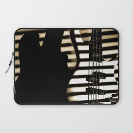 Feel that bass! Laptop Sleeve