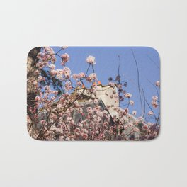French Wildflowers Bath Mat