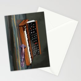 Synthesizer and Aquid Stationery Cards
