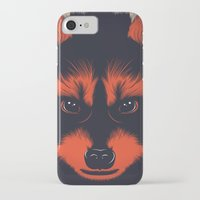 raccoon iPhone & iPod Cases featuring raccoon by CranioDsgn