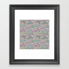 Some Bony Fish Framed Art Print