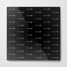 AAROWS black Metal Print