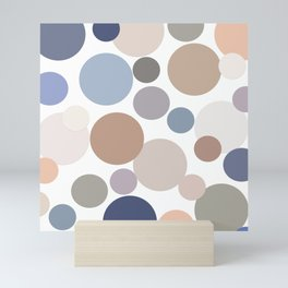 Cool Circle Palette Mini Art Print