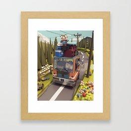 I Forgot Framed Art Print