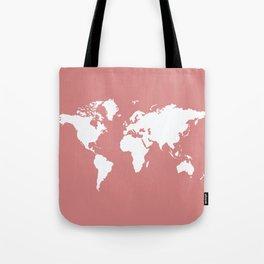 Pink Elegant World Tote Bag