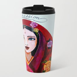 Compassionate heart Metal Travel Mug