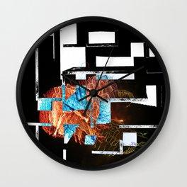 perpendicular world Wall Clock
