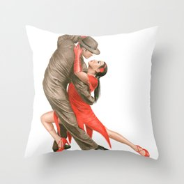 Tango Throw Pillow
