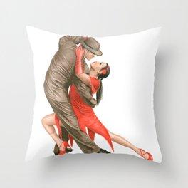 Tango Throw Pillow