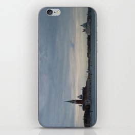 Venice laguna at sundown iPhone Skin