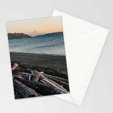 Mount Rainier Sunset Stationery Cards