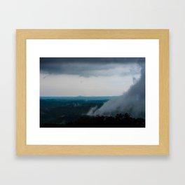 Smoky Mountain Storm Framed Art Print