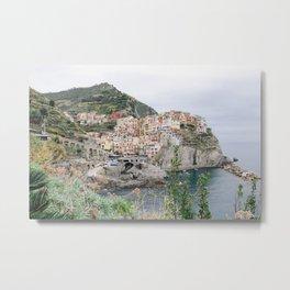 Manarola, Cinque Terre, Italy Metal Print