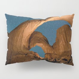 Double  Arch  - Nature Window in Utah Pillow Sham