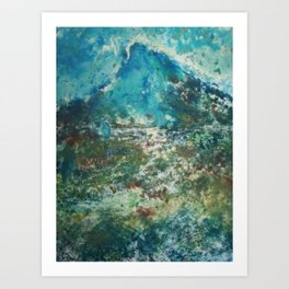 Byrd Mt. Art Print