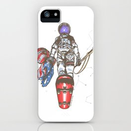 The Last Spaceman iPhone Case