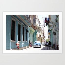 VIVA CUBA Art Print