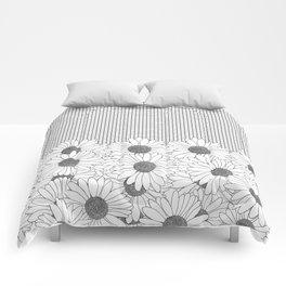 Daisy Grid Comforters