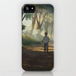 Familiar #8 iPhone Case