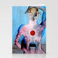 chakra Stationery Cards featuring chakra by nightowlstudio