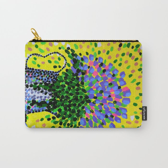 Explosive Flowers Carry-All Pouch