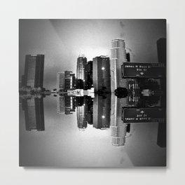 Sinking Cities II Metal Print