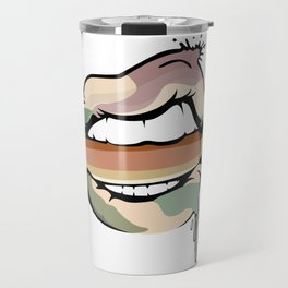 AfroLips Bullet Rebel Travel Mug