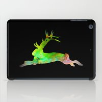 jackalope iPad Cases featuring Jackalope by Marc Wolff