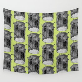 Mysterious Forest Creatures In Tree Log Wall Tapestry
