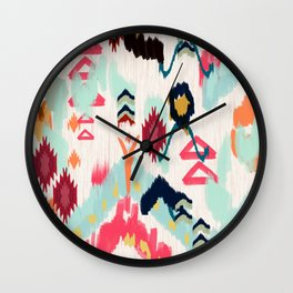 Bohemian Ethnic Painting Wall Clock