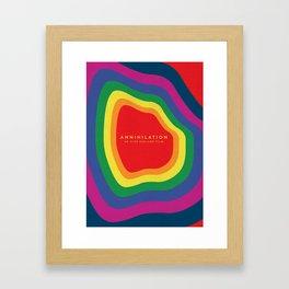 Annihilation Alternative Poster Framed Art Print