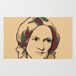Charlotte Brontë Rug