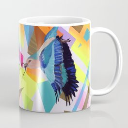 Geo Fly Birds Coffee Mug