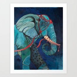 Leave The Circus Art Print