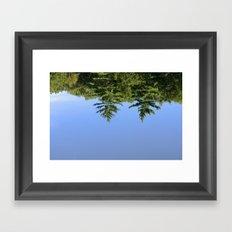 Reflecting at Farrar Pond 1 Framed Art Print