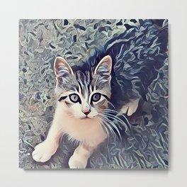 My Favorite Stray Cat Metal Print