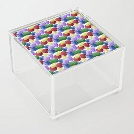Multicolor Gemstones Acrylic Box